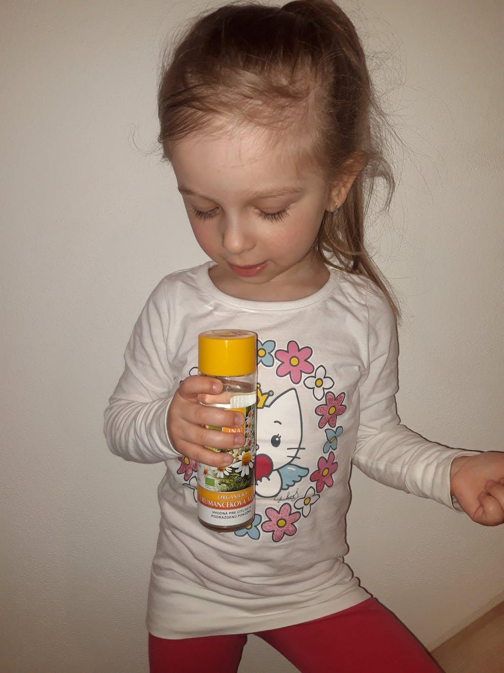 Organická rumančeková voda na podráždenú pokožku (200ml)