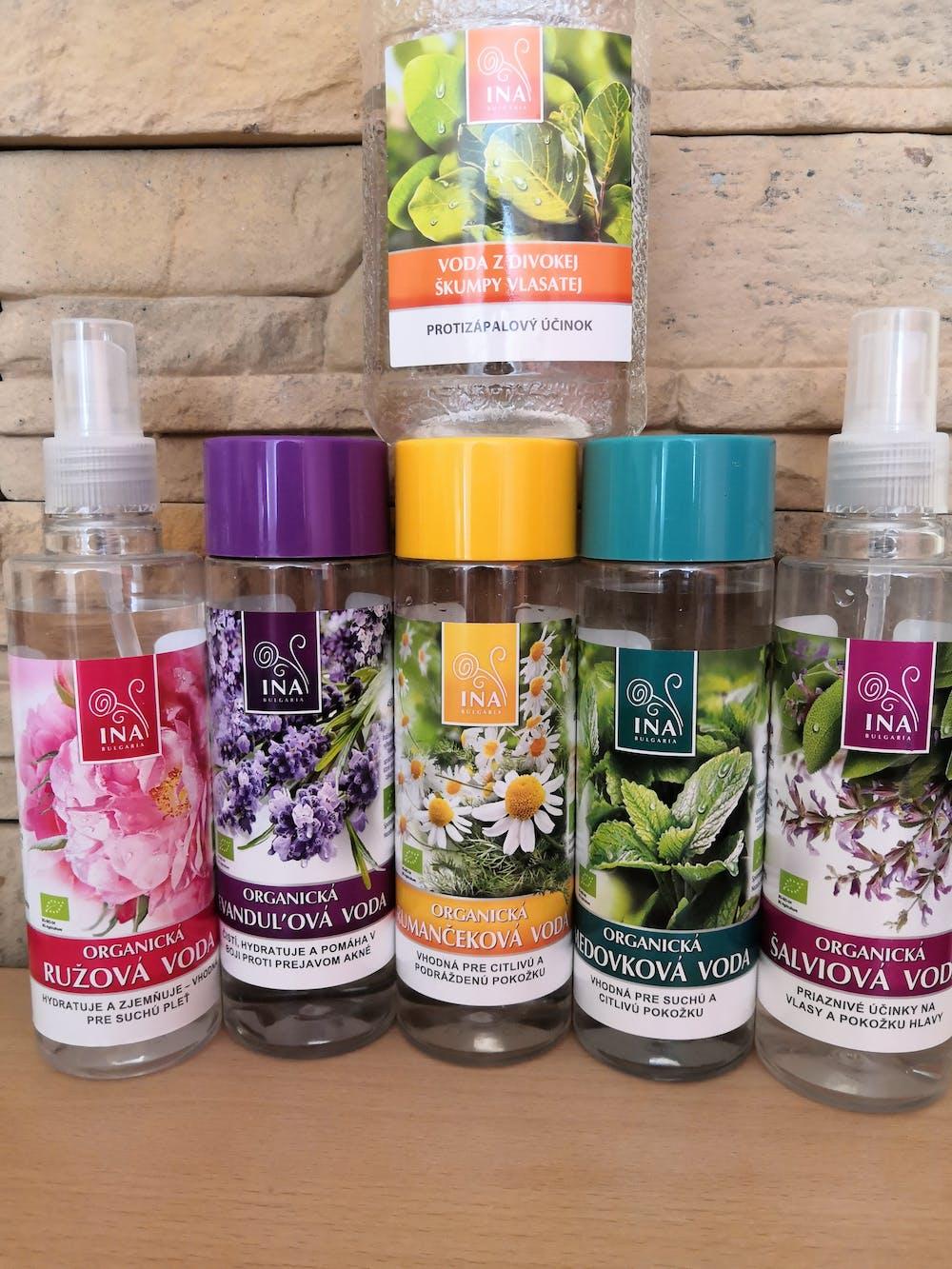 Organická levanduľová voda - proti prejavom akné (200ml)