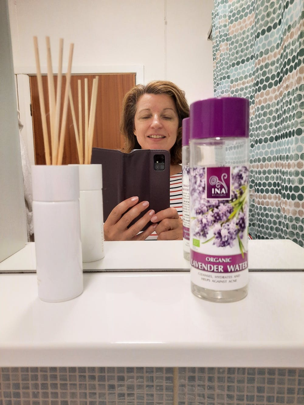 Organic Lavender water with anti-acne effect - 200ml (Hydrolat)