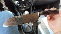 Set de 10 couteaux type Japonais - Chef Tanaka - Forest Wood