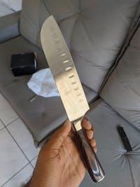 Couteau Santoku - Chef Tanaka - Forest Wood