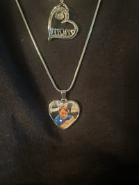 My Angel Photo Necklace