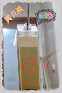 """PACK 2 Botellita 500 ml """"cartón de leche"""""""