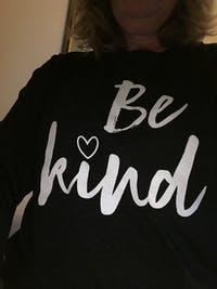 Be Kind Embroidered Pullover Fleece