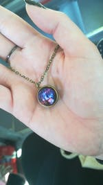 Universe Hologram Necklace