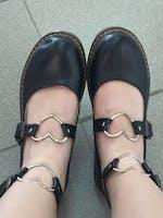 Lolita Heart Shoes