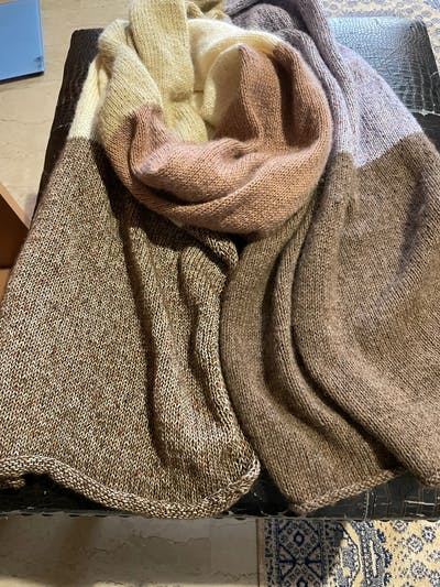 Knotten Wolle