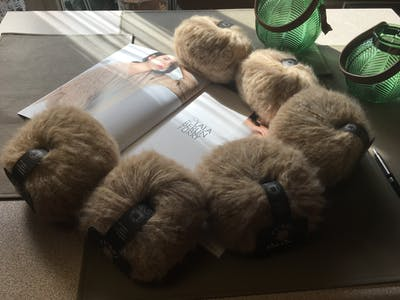 Breipakket knuffelige trui Furry - met GRATIS lookbook