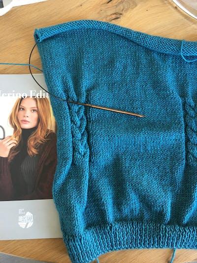 Cool Wool Big Melange 310 Petrol