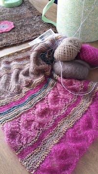 Breipakket A Mano head over heels sjaal