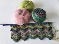 Haakpakket Knotten Weaving Lucia Shawl