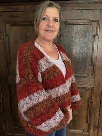 Breipakket Brigitte no. 2 Tweed & Nuvoletta Happy Thoughts vest
