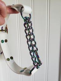 "1"" (25mm) Rainbow Chain Martingale Hardware"