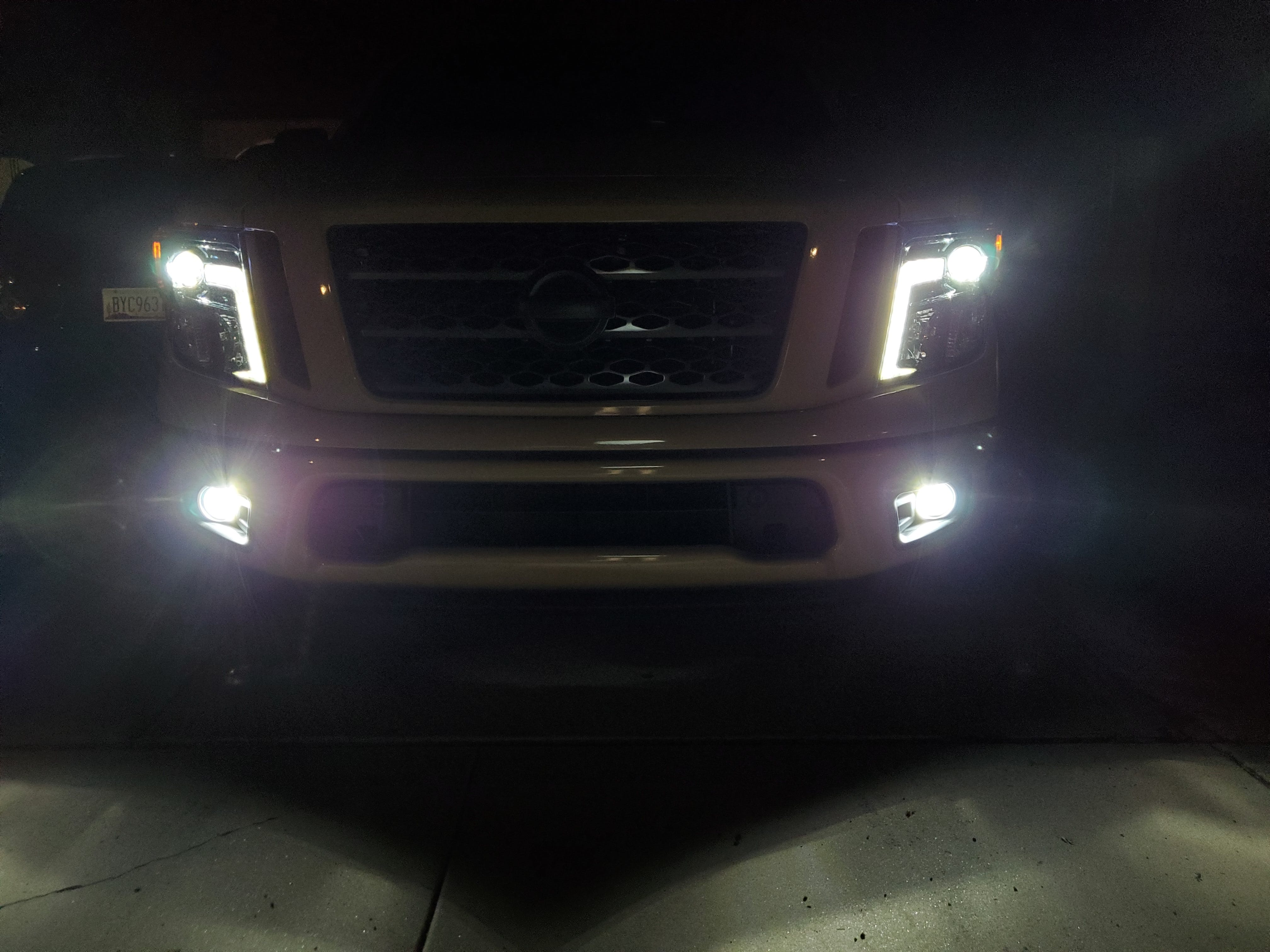 LC6 H11 H9 H8 LED Headlight COB 60W 7600LM 6000K