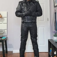 Women's Dalby Leather Biker Jacket