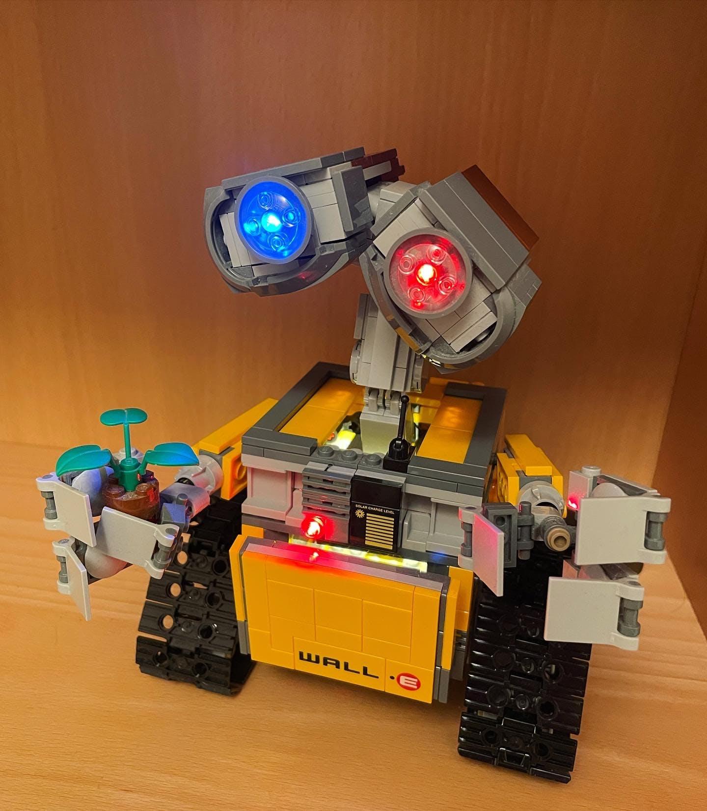 Light Kit For Robot WALL E 21303