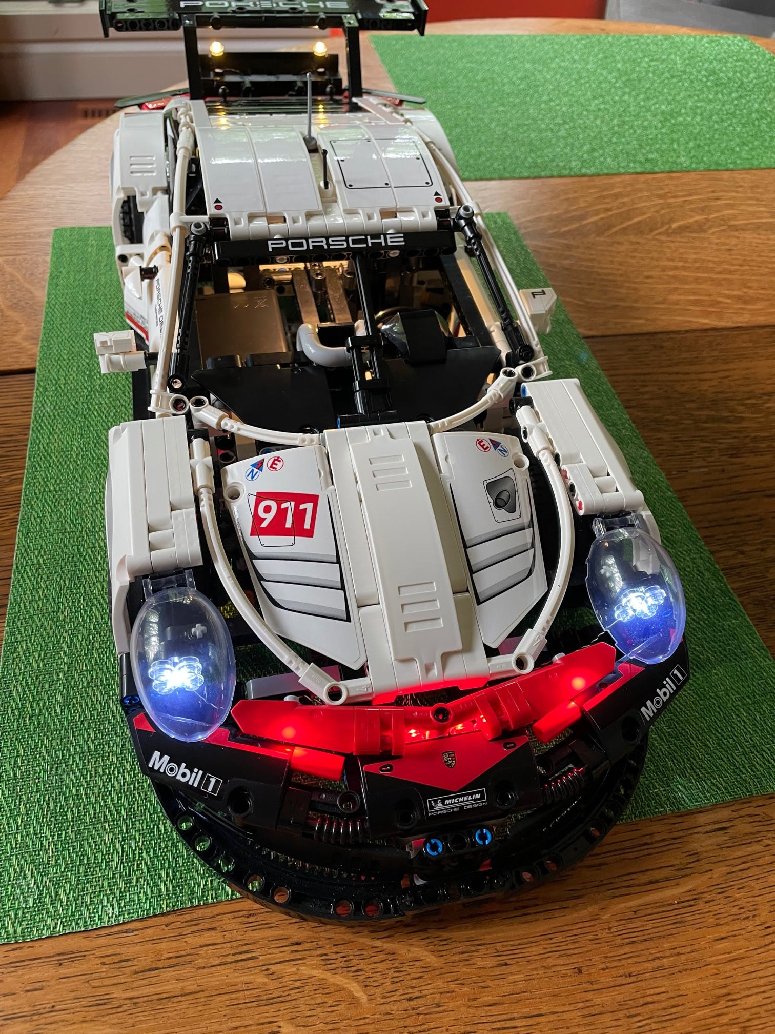 Light Kit For Porsche 911 RSR 42096