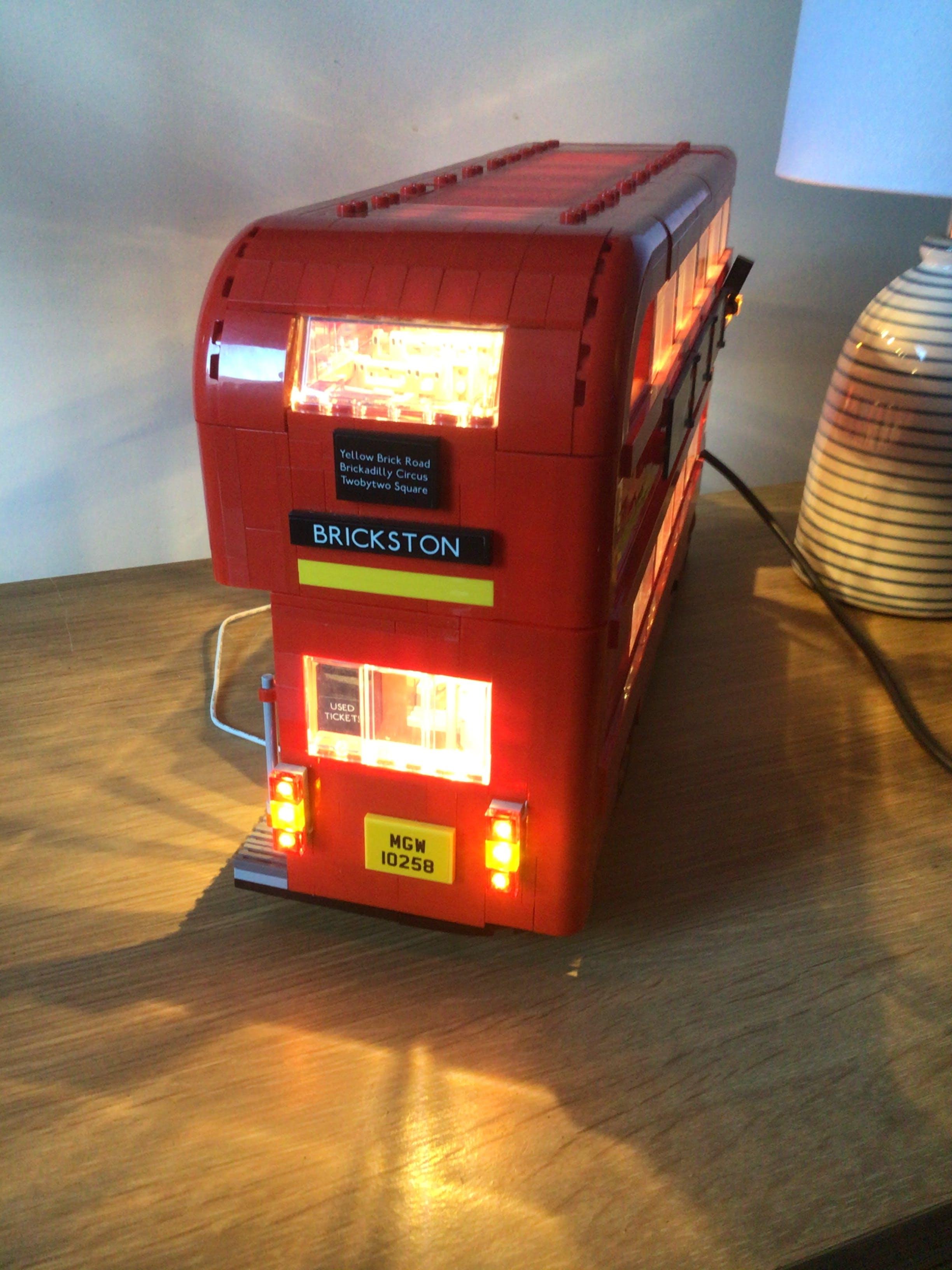 Light Kit For London Bus 10258