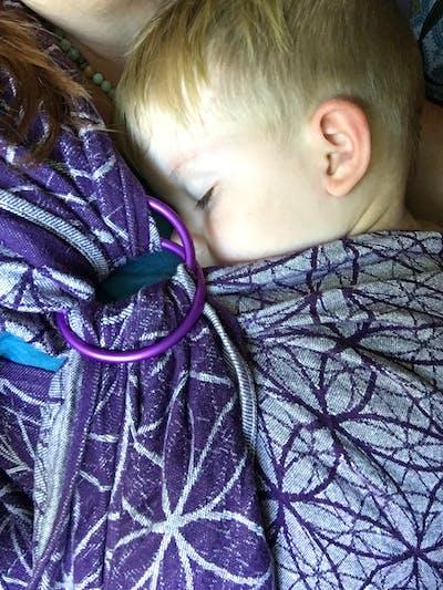Sling Rings for Baby Slings UK : Shiny and Matte