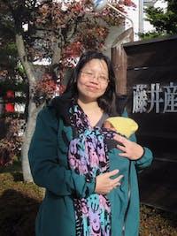 Angel Wings Babywearing Softshell Jacket Bottle Green
