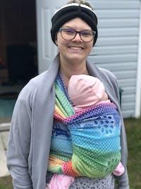 Didymos Baby Woven Wrap Rainbow Pfau