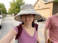 Linen Sun Protection Classic Hat - Almond