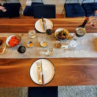 CLASSIC WALNUT RECTANGLE DINING TABLE