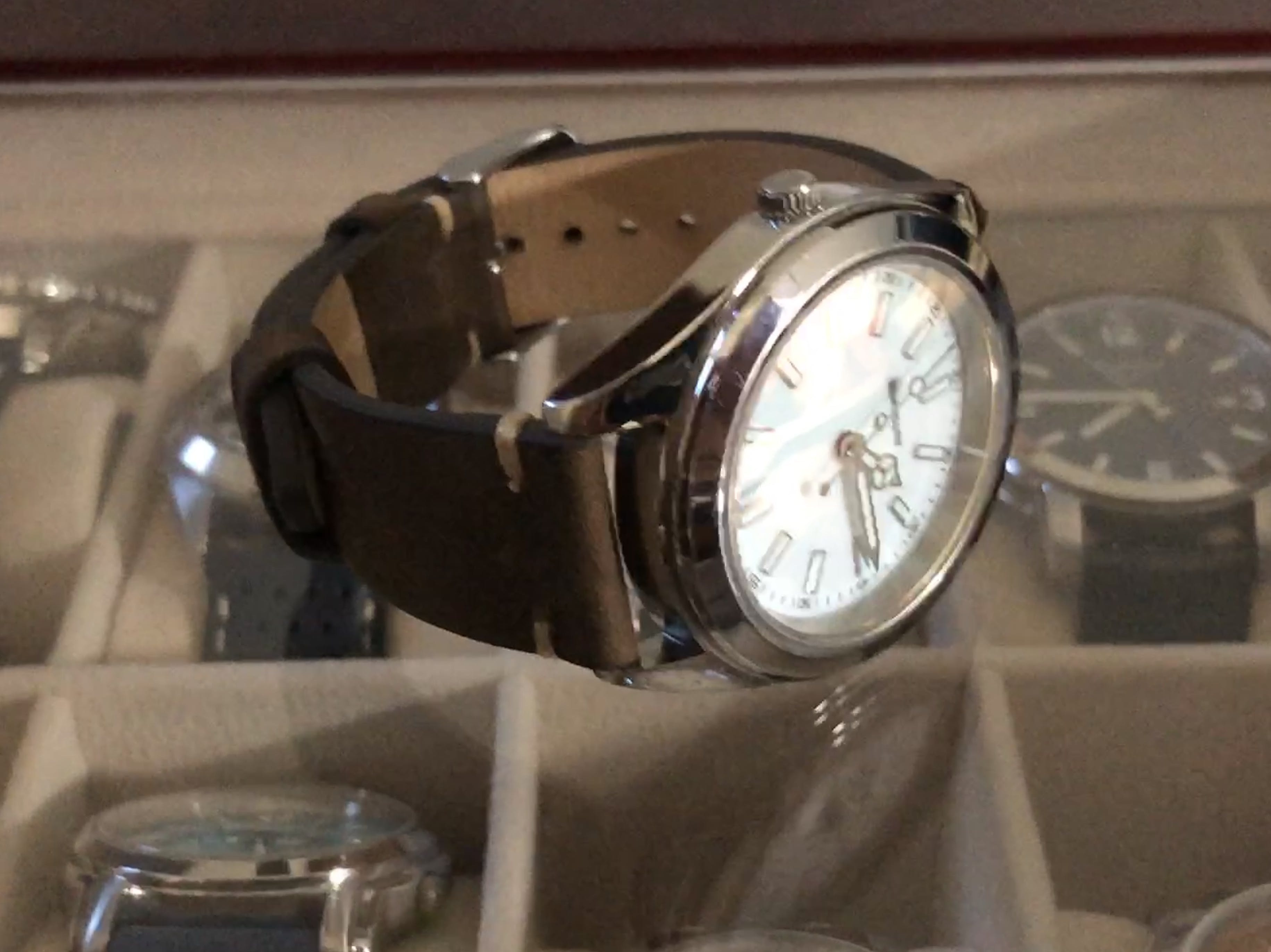 0b94941c0 Brown Vintage Watch Strap | Genuine Leather - Lucius Atelier