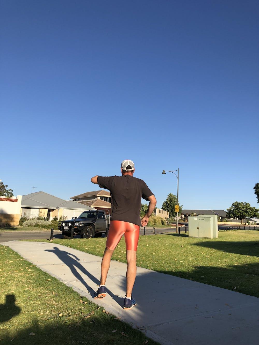 Shiny Spandex Bike Shorts