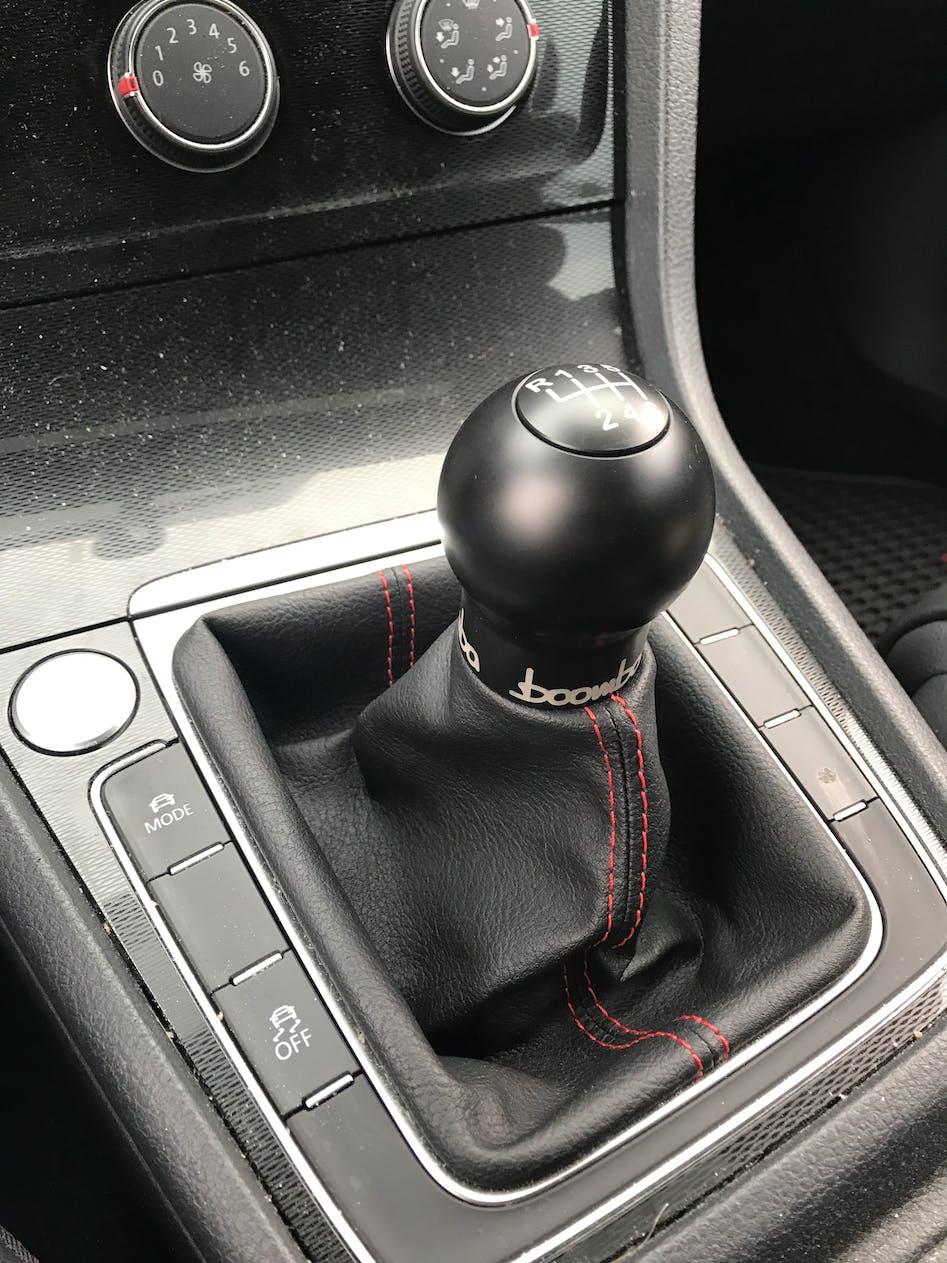 Boomba Short Throw Weighted Shift Knob | 2010+ VW Golf GTI/R Mk6/Mk7  (035-00-006)