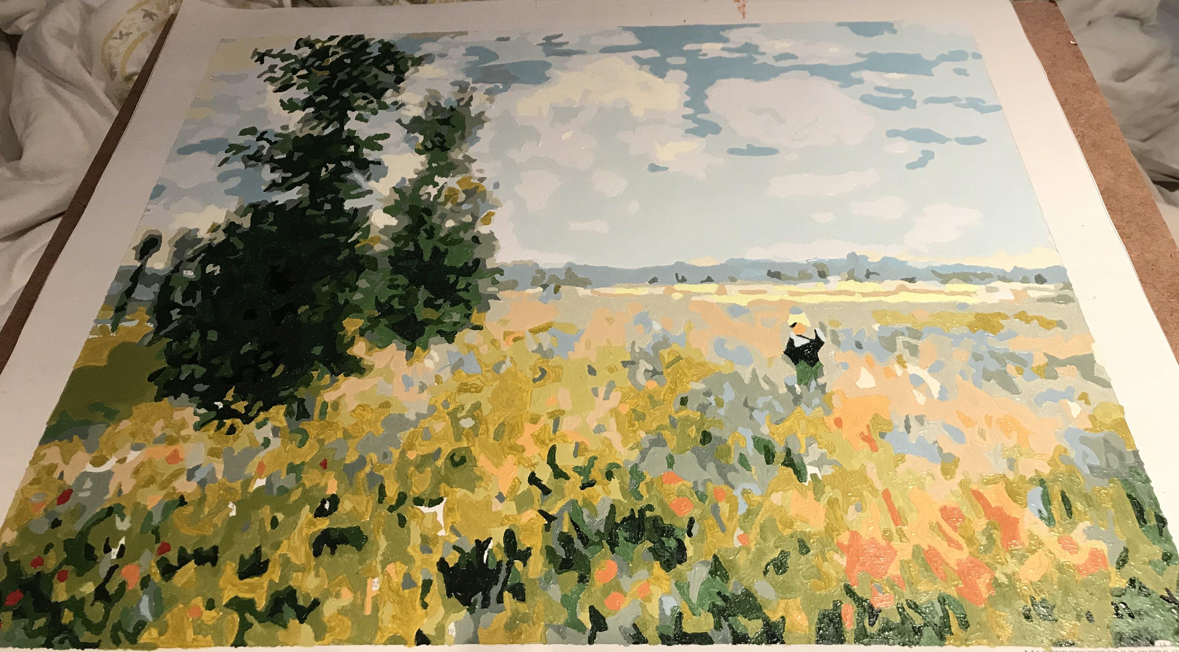 Claude Monet Poppy Fields Near Argenteuil