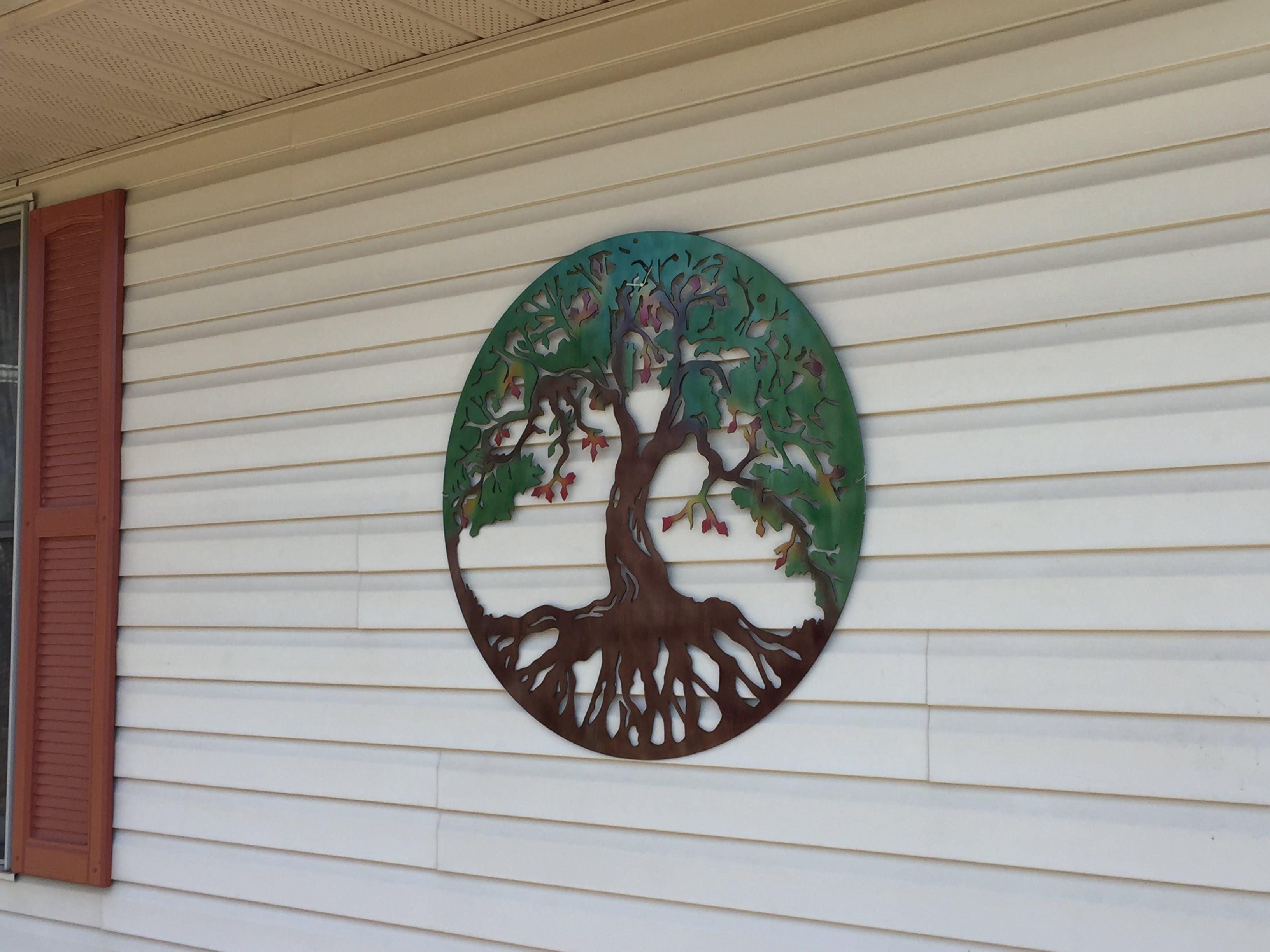9e2762b9a5 Tree Of Life Metal Wall Art - Michigan Metal Artwork