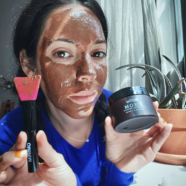 Moxie Clarifying Red Clay Mask