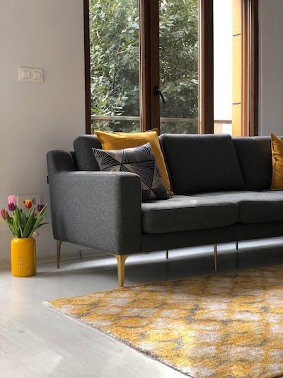 Hard Coal Modular Sofa