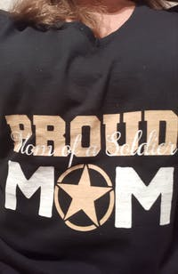 Army Mom of a Soldier T-shirts