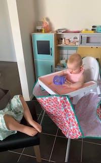 High Chair Food Catcher - Watermelon