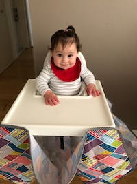 High Chair Food Catcher - Feather