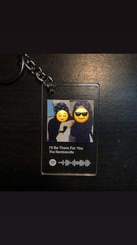 Custom Song Keychain