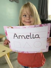Personalised Learning Mat | Full Name | Alphabet or Numbers