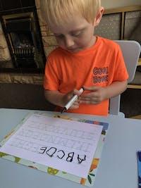 Standard Alphabet Learning Mat