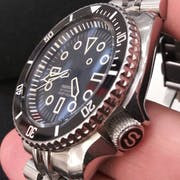 Watch Dial: Divemaster Stealth