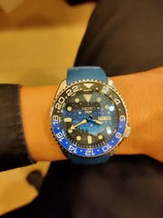 NMK301 - SKX007/SRPD Double Domed Sapphire Crystal