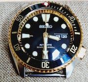 SKX007/SRPD Sub Bezel: Polished Gold Finish