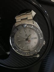 NMK302 - SKX007/SRPD Double Domed Sapphire Crystal (No Bevel Edge)
