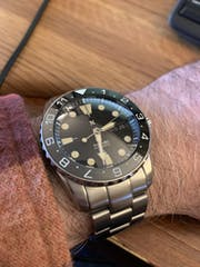 Watch Hands: SKX Vintage Patina Lume Finish