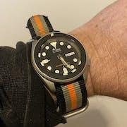 NMK901 SKX007/SRPD Watch Case : Sandblasted Finish