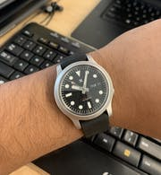 Watch Hands: MM Polished Finish