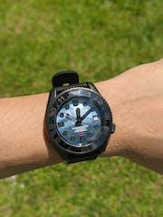 NMK908 MM300 SKX007/SRPD Watch Case : PVD Matte Black Finish
