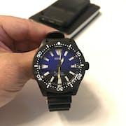 SKX007/SRPD Ceramic Bezel Insert: 62MAS style Black
