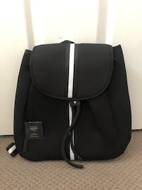 Hudson (Black) Neoprene Backpack